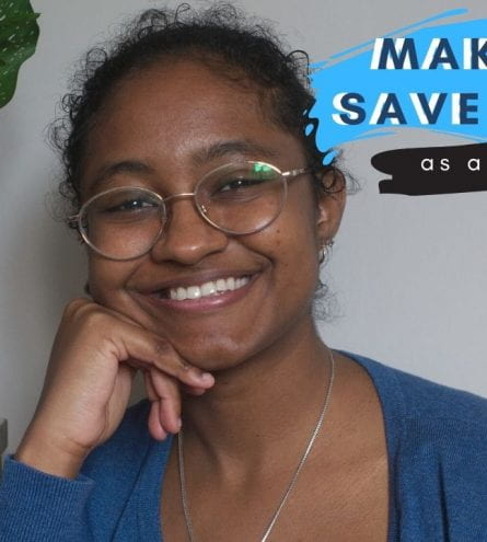 'Make and save money as a student' thumbnail