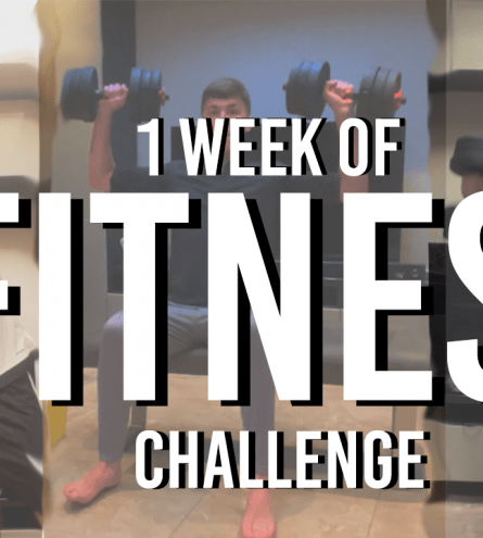 Thumbnail of Ben completing his 1 week of fitness challenge