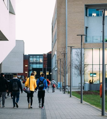 students at Lincoln University