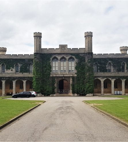 The front of Lincoln Crown Court