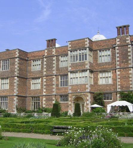 The front of Doddington Hall