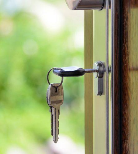 Key in the door