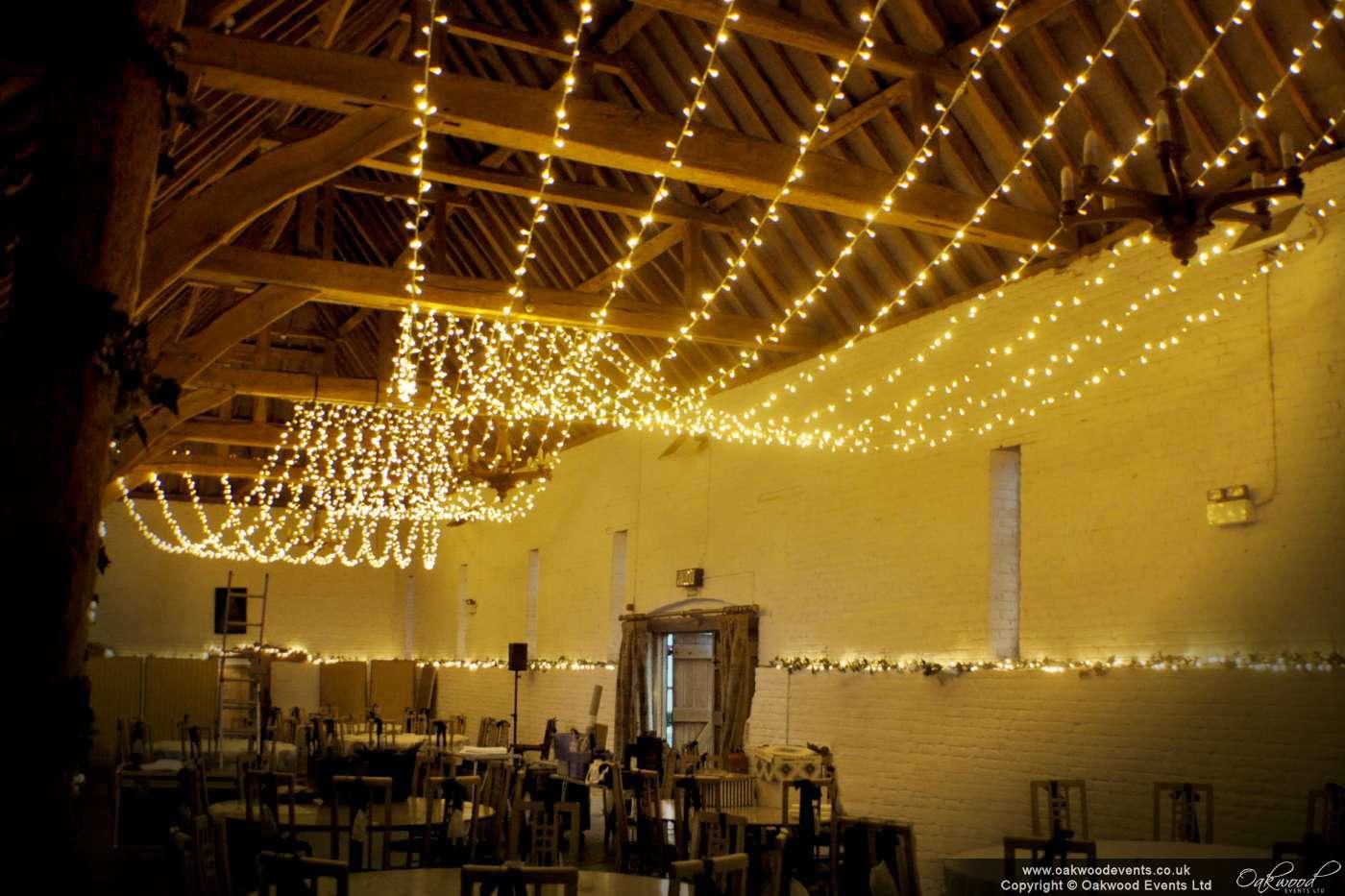 Fairy Light Ceiling: Bradley, S. (2014) Ufton Court.,Lighting
