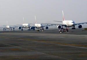 Taxiing Aircraft