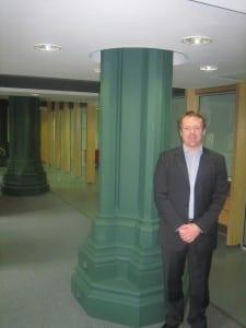 Estates Manager, Jim McLelland