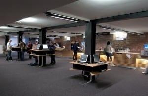 Library circulation area