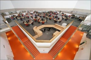 Interior of the new technology centre