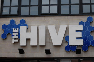 The Hive exterior