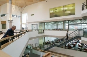 New Technology Centre, Interior