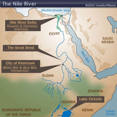 Natural Resources Moving Through Space To Discover Place - Natural resources of egypt