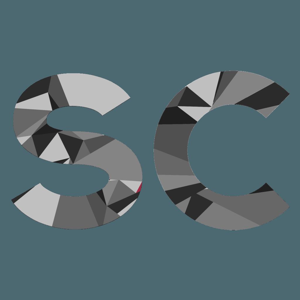SC Logo- Greyscale