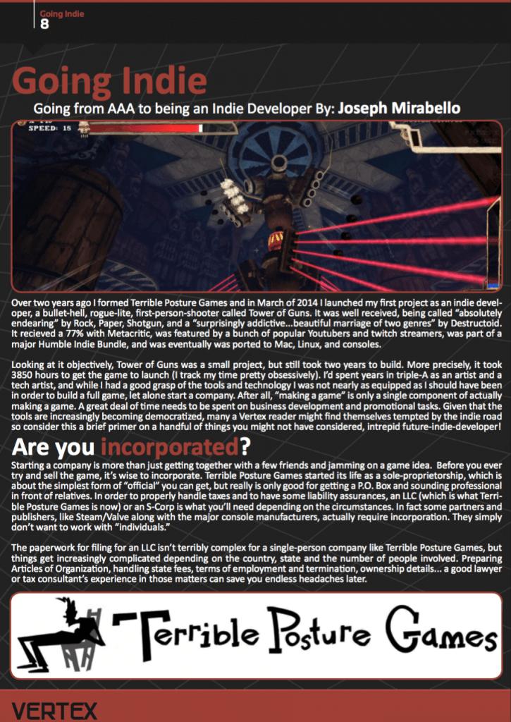 Vertex Page 8 - Original