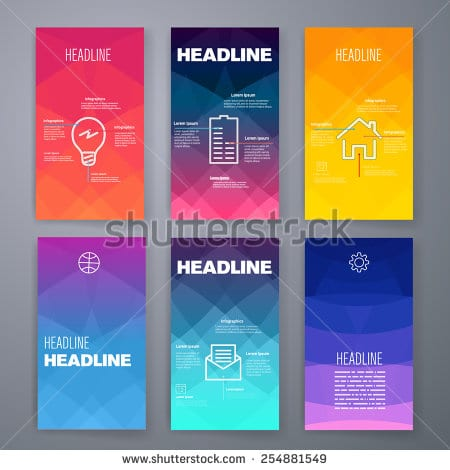 stock-vector-templates-design-set-of-web-mail-brochures-mobile-technology-and-infographic-concept-saas-254881549