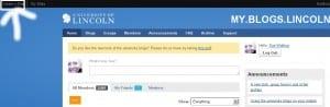 WordPress - Create a Site link