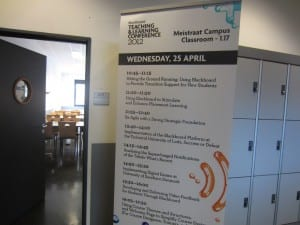 Blackboard Teaching and Learning Conference Plantijn Hogeschool, Antwerp