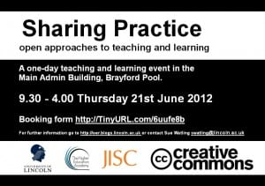 Sharing Practice poster
