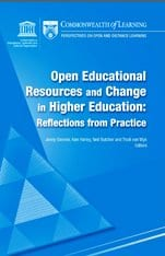 Commonwealth of learning OER book