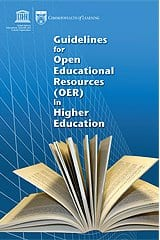 Commonwealth of Learning OER guidelines book