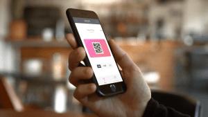 Photograph of the Yoyo wallet app