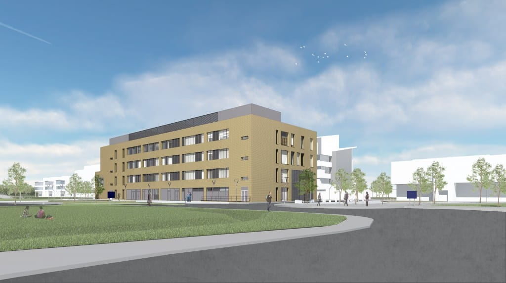 Phase 1 Isaac Newton Building