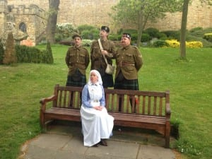 WW1 at The Castle