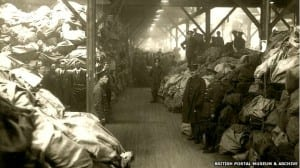 Letters: Role of the Post Office in World War One