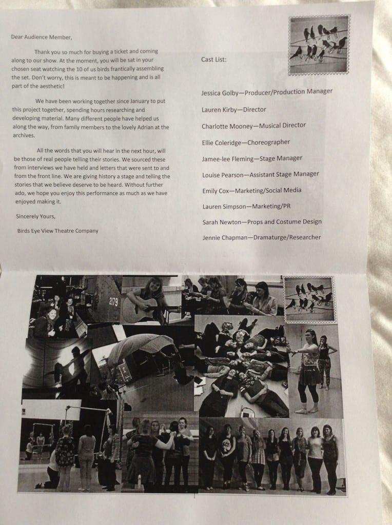 Cox, E (2014) Inside the Programme