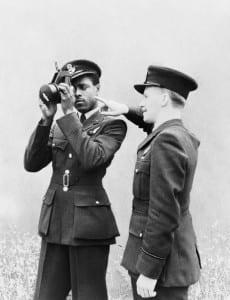 J H Smythe during his training as an RAF navigator. ©IWM