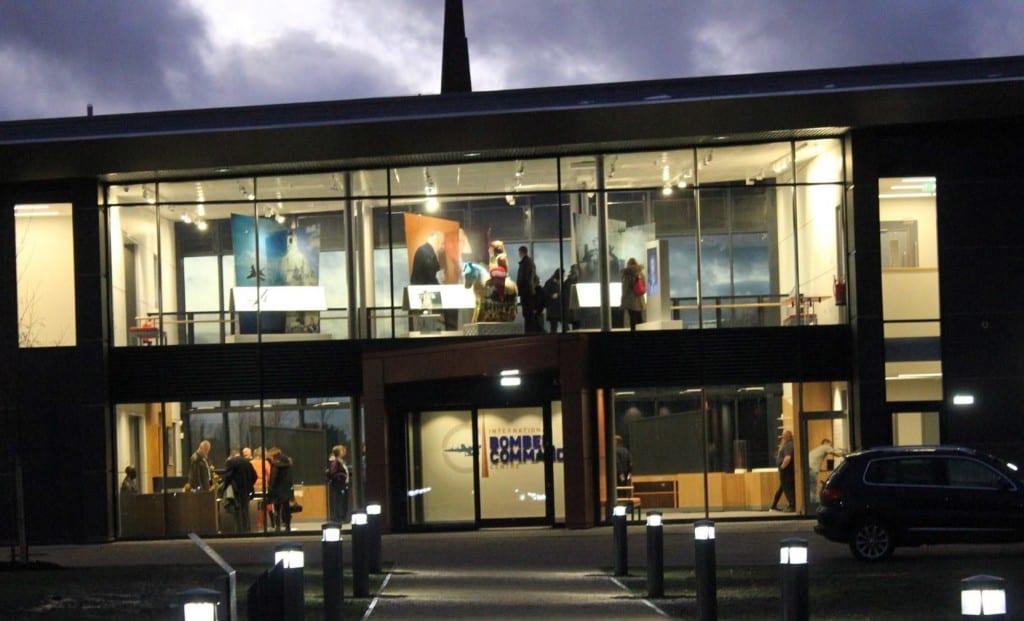 1 IBCC entrance at night