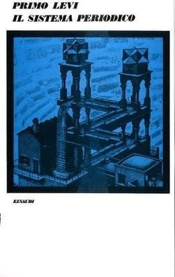 Cover of the first edition (Milan, Einaudi, 1975) Source: https://en.wikipedia.org/wiki/The_Periodic_Table_(short_story_collection)