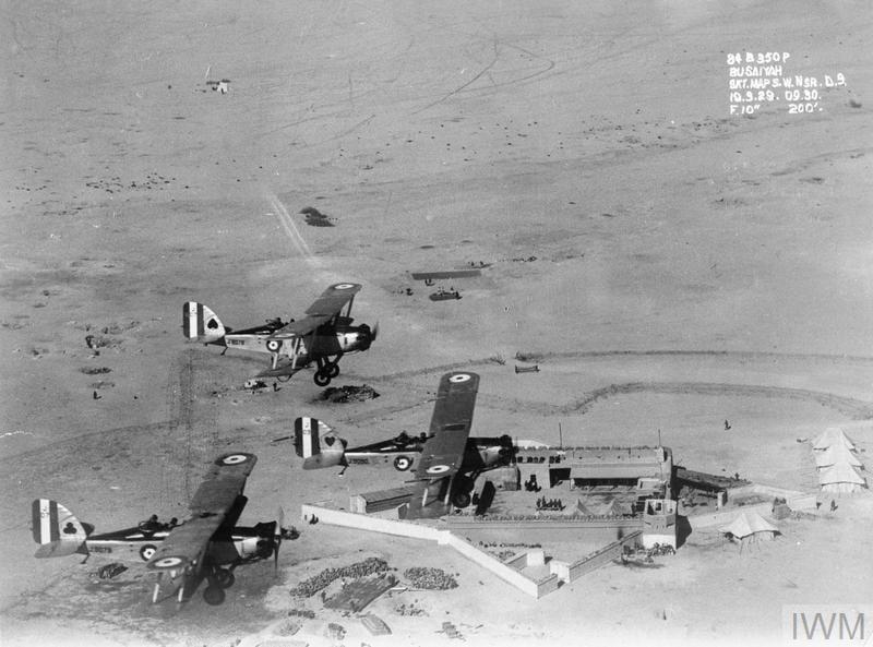 RAF 84 (Bomber) Squadron in Mesopotamia, 1928. © IWM (HU 33933)