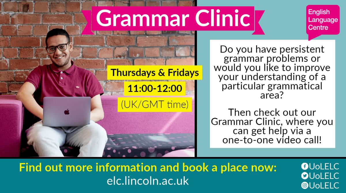 Grammar Clinic - 2021 v1.1