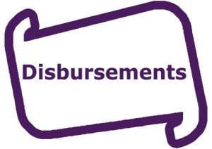Disbursments