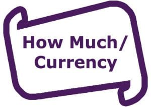 How much currency
