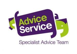 Advice Service Logo Specialist Advice Team