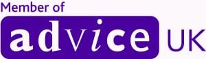 Advice UK Logo Purple member no strap