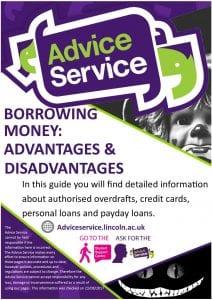 Borrowing Money Advantages and disadvantages new