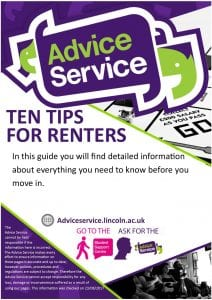 Ten tips for renters new