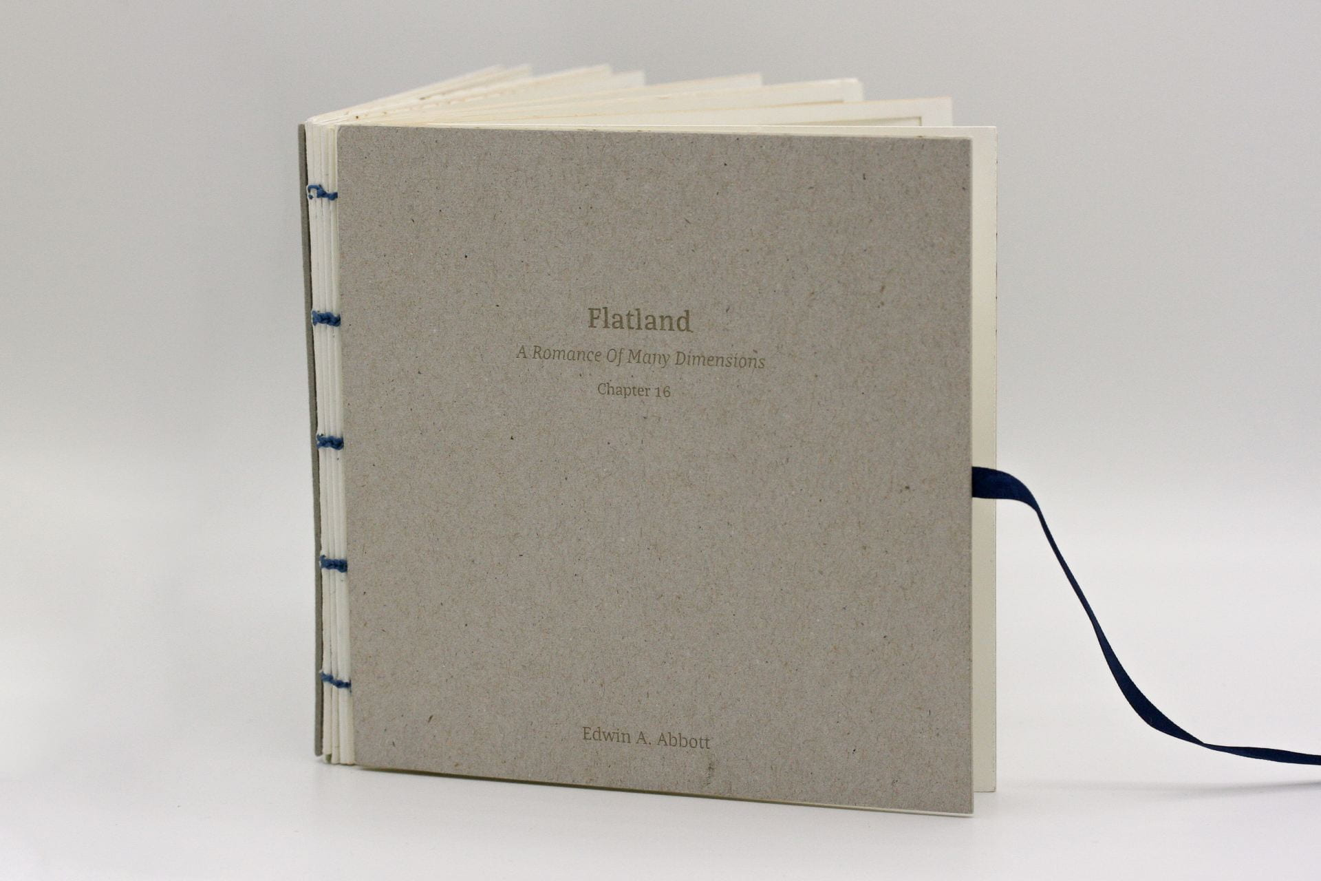 Front cover of book titled 'Flatland'.