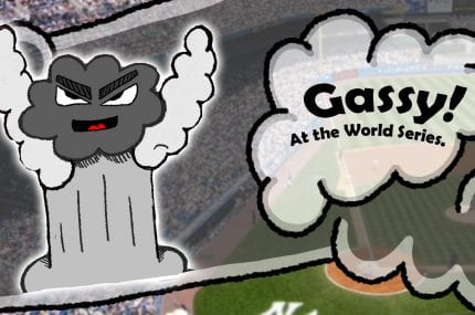 page thumbnail previewing D&AD | Gassy at the World Series