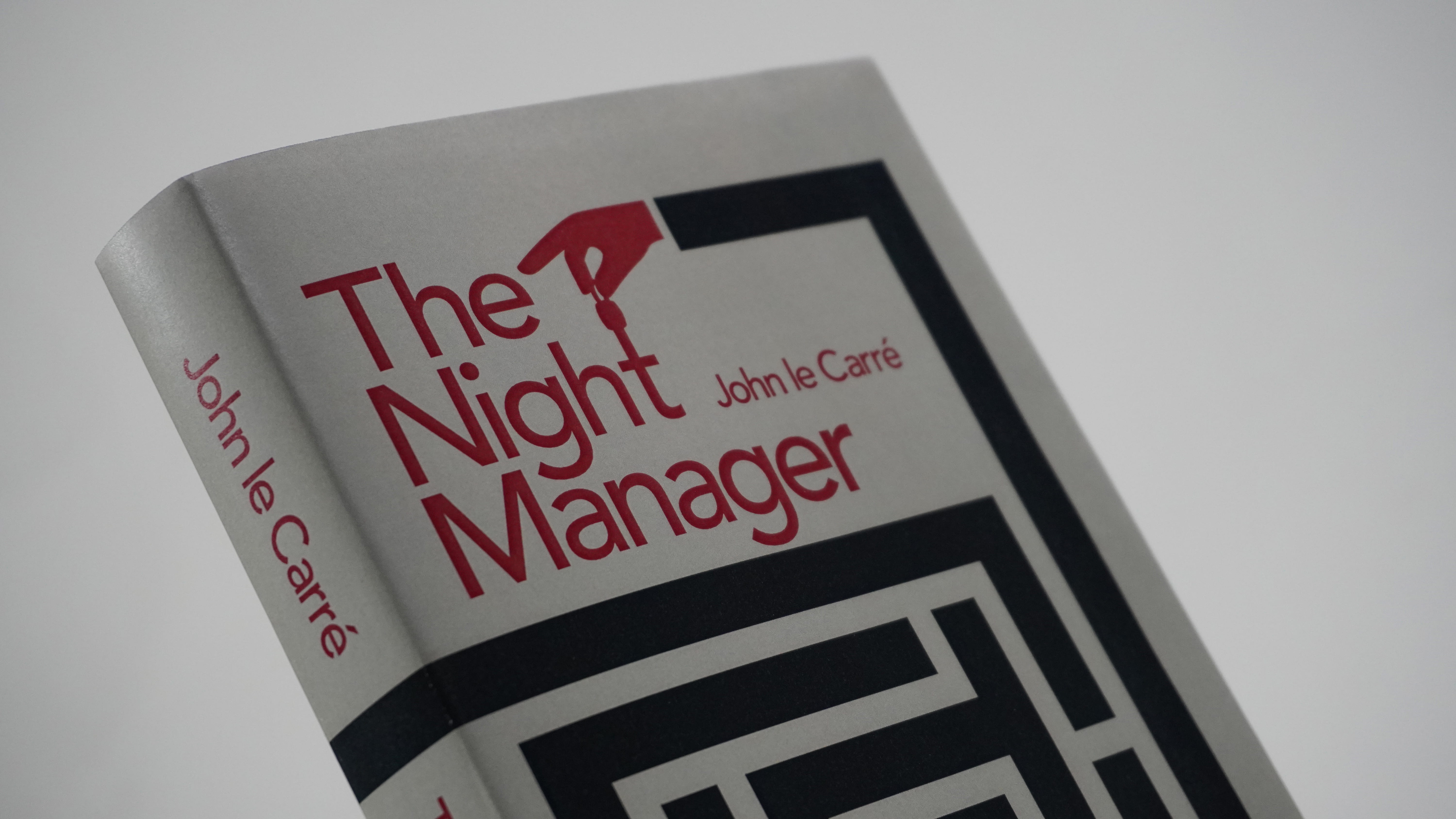 The front cover of 'The night manager'.