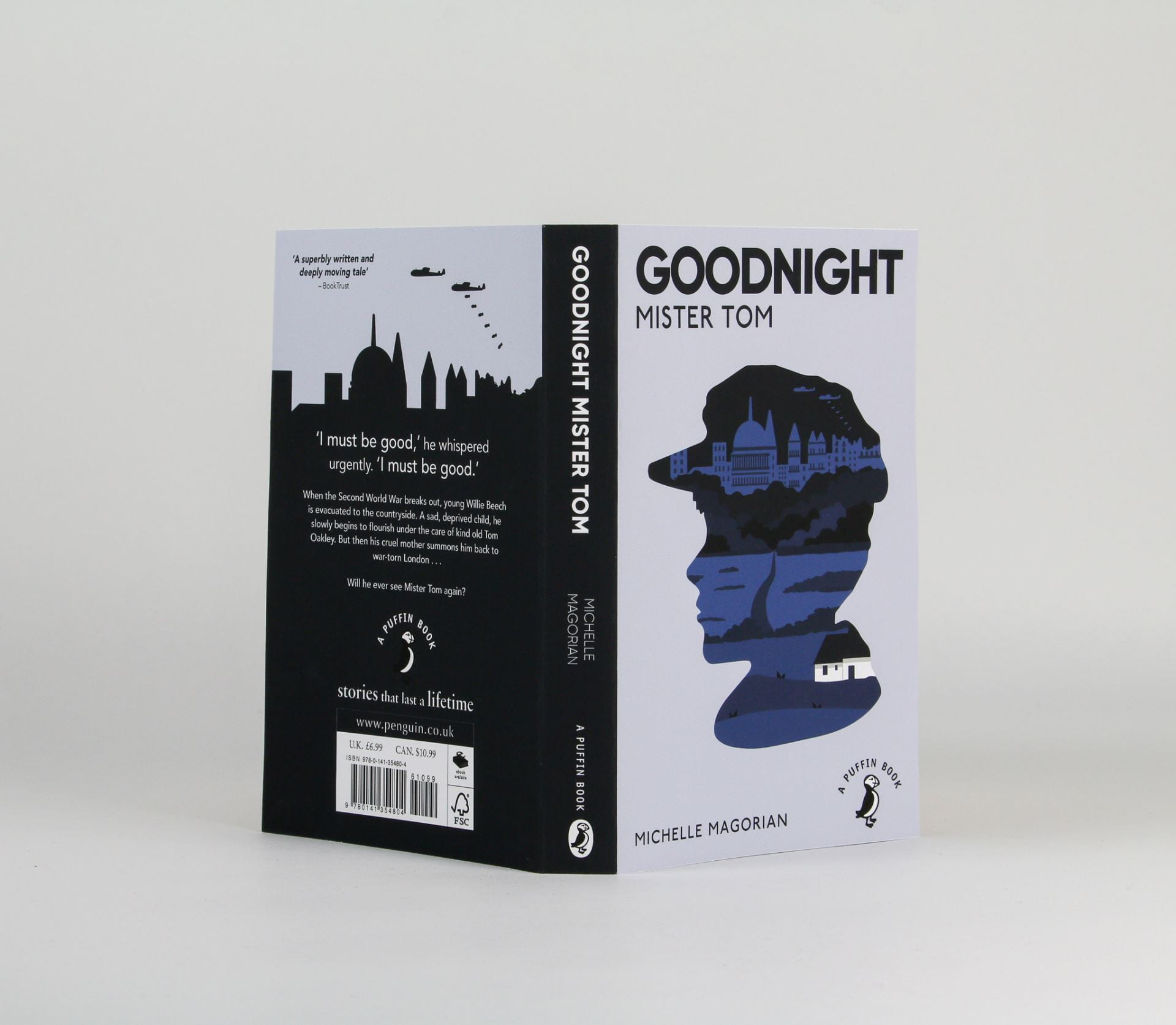Mock up showing both covers of the book together