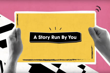 page thumbnail previewing Giffgaff- Story Run By You