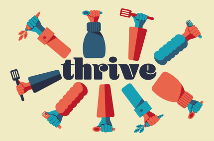 page thumbnail previewing Thrive – RSA Shortlisted Project