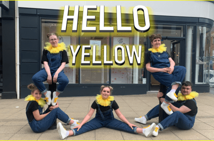 page thumbnail previewing Hello Yellow