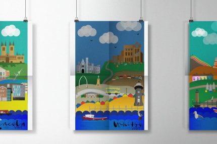 UK Tourism Posters