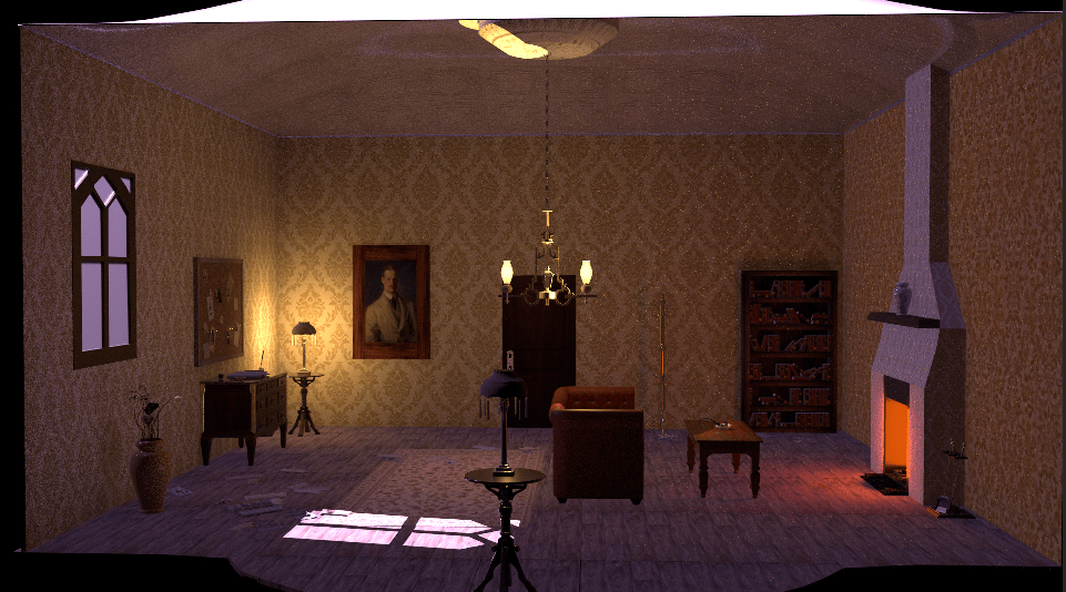 My second year look development project based on a victorian detective. It features various articles, a pipe and magnifying glass.