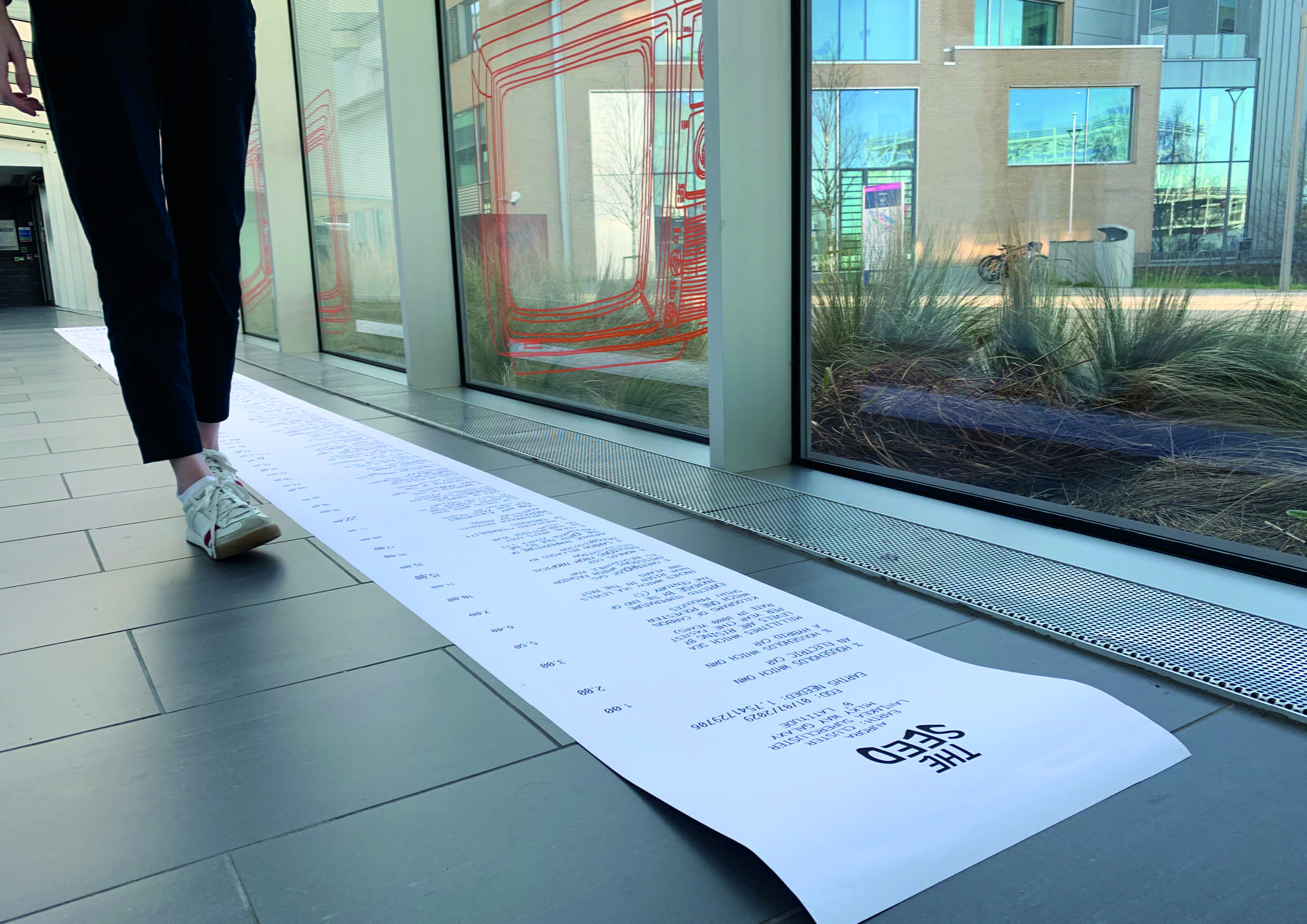 Receipt Installation: This represents the cost of human activities on the environment.