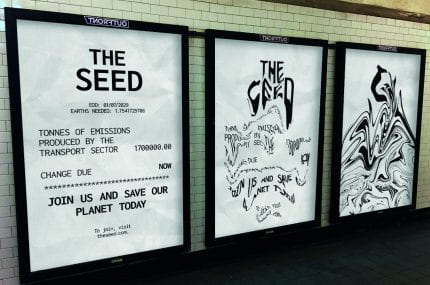 page thumbnail previewing The Seed: Climate Change Campaign