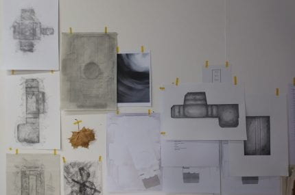 page thumbnail previewing Remembering the MA studio – Drawings on pause.
